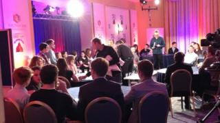 'The Wales Report: Young People's Debate' yn Llandudno