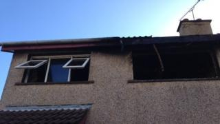 House fire Moyglass