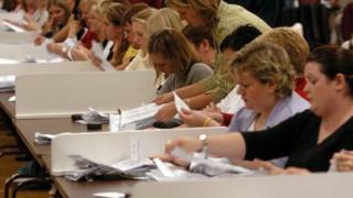 Election count assistants