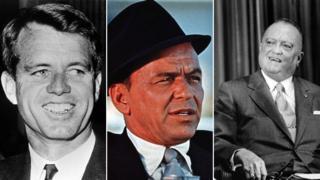 Robert Kennedy, Sinatra, J Edgar Hoover