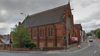 Old Trinity Church on Groundwell Road