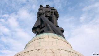 Treptower Park's Soviet Memorial, in Berlin