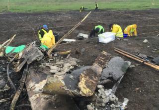 Dig in eastern Ukraine