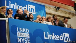 LinkedIn listing on NYSE