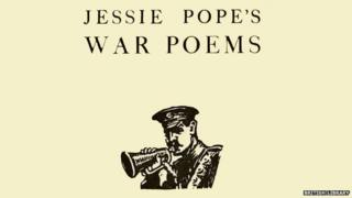 Front page of Jessie Pope's War Poems