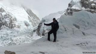 Tony McMurray in Nepal
