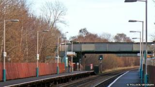 Shotton Low Level Railway Station
