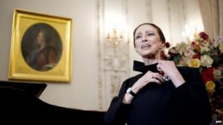 Maya Plisetskaya. Photo: February 2012
