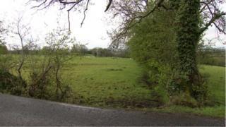 The scene of the fatal crash on Townhill Road, Rasharkin
