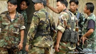 Naga rebels
