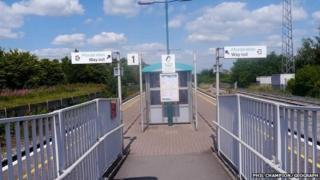 Welshpool station