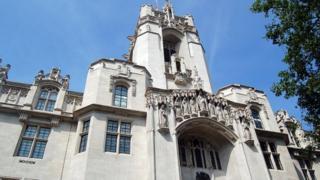 The Supreme Court in Parliament Square, London