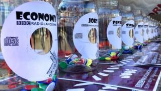 BBC Radio Lancashire's election stalls