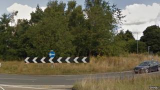 Gledrid roundabout