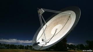 The Parkes Telescope 27 October 2006