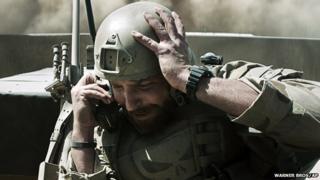 Bradley Cooper in American Sniper film