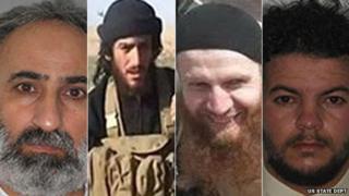 Abd al-Rahman Mustafa al-Qaduli; Abu Mohammed al-Adnani; Tarkhan Tayumurazovich Batirashvili and Tariq Bin-al-Tahar Bin al Falih al-'Awni al-Harzi - Rewards for Justice