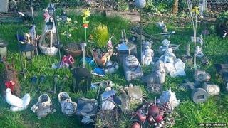 Lydney cemetery, Gloucestershire