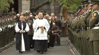 Bishop Pat Storey at Arbour Hill commemoration