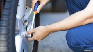 generic tyre change
