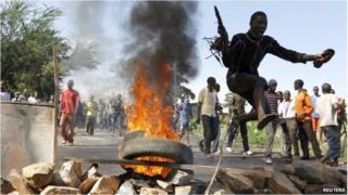 Protests in Burundi