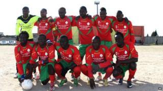 A team photo