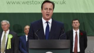 David Cameron victory speech in Witney