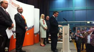 Robert Buckland victory speech