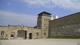 Mauthausen main entrance today