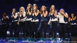 A scene from Pitch Perfect 2