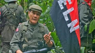 ELN commander alias Gabino, 24 April 15