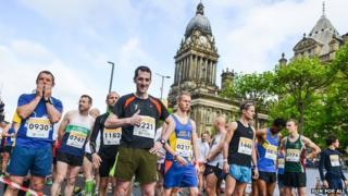 Leeds half marathon runners in 2014