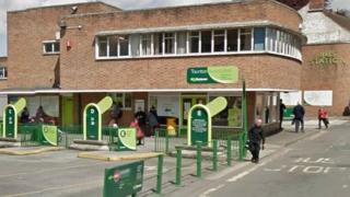Taunton Bus Station, Somerset