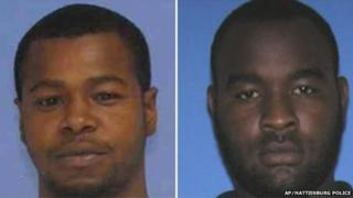 Photos released by the Mississippi Bureau of Investigation show, Marvin Banks (left) and his brother Curtis Banks on Saturday, 9 May 2015
