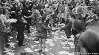 Dancing in the streets of London