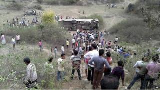 File photo of India road crash
