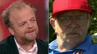 Toby Jones and Neil Baldwin