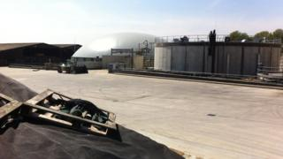 JV Energen's Anaerobic Digestion plant near Dorchester in Dorset