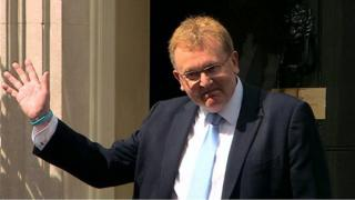 David Mundell at Downing Street