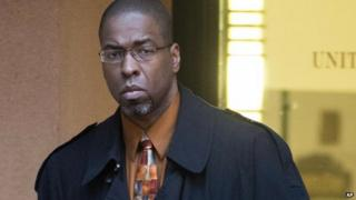 Jeffrey Sterling, a former CIA officer, leaves the courthouse in January