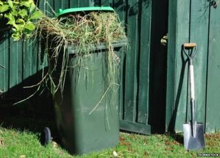 Garden waste is not accepted in general rubbish or recycling containers (bins or sacks, where provided). The best way to deal with garden waste is to compost at home.