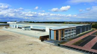New Amazon building
