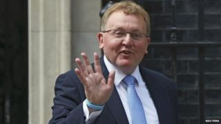 David Mundell was given his new post by PM David Cameron