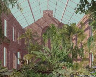 Granby Four Streets 2014 - Greenhouse view by Assemble