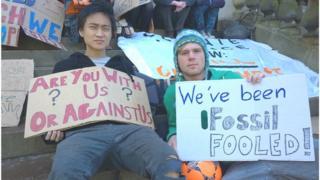 Edinburgh student demo for divestment
