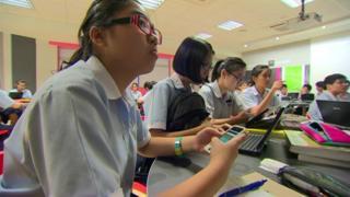 Singapore students