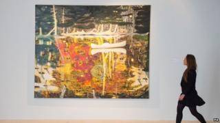 Peter Doig's Swamped