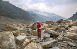 Even if the aftershocks subside, the population needs to be alert to monsoon-triggered problems