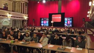 Election count in Stoke-on-Trent