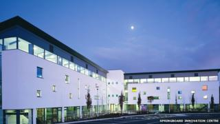 Springboard Business Innovation Centre in Cwmbran
